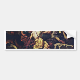 Jupiter And Mercury With Philemon And Baucis By Lo Car Bumper Sticker