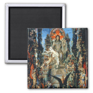 Jupiter and Semele, 1894-95 (oil on canvas) 2 Inch Square Magnet