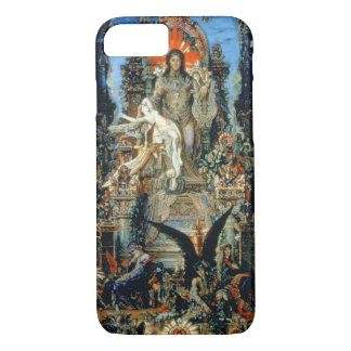 Jupiter and Semele, 1894-95 (oil on canvas) iPhone 8/7 Case