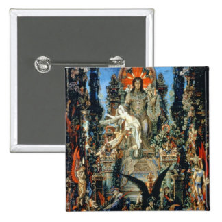 Jupiter and Semele, 1894-95 (oil on canvas) Pinback Button