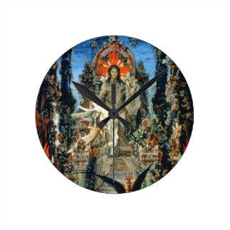 Jupiter and Semele, 1894-95 (oil on canvas) Round Clock