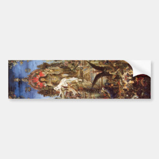 Jupiter and Semele Bumper Sticker