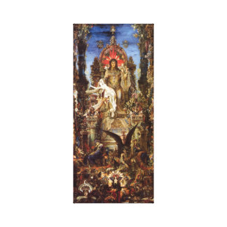 Jupiter and Semele Canvas Print