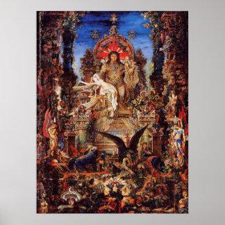 'Jupiter and Semiele' Poster