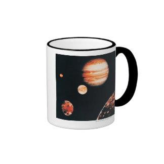 Jupiter and The Galilean Satellites Coffee Mug