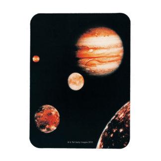 Jupiter and The Galilean Satellites Magnet