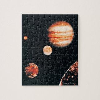 Jupiter and The Galilean Satellites Puzzle