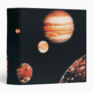 Jupiter and The Galilean Satellites Vinyl Binder