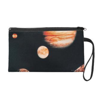 Jupiter and The Galilean Satellites Wristlet
