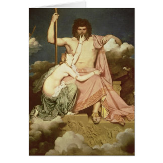 Jupiter and Thetis, 1811 Card