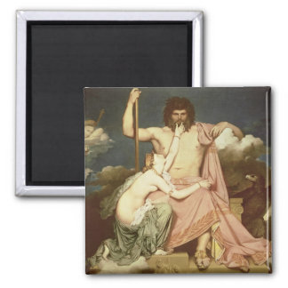 Jupiter and Thetis, 1811 2 Inch Square Magnet