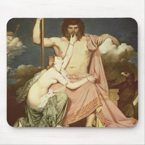 Jupiter and Thetis, 1811 Mouse Pad