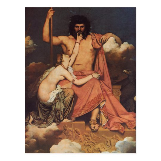 Jupiter and Thetis Postcard