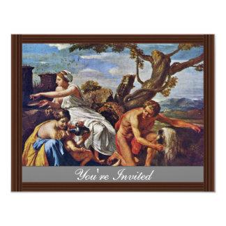 Jupiter As A Child, Nurtured By The Goat Amalthea Invite