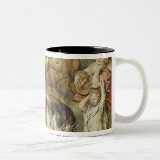 Jupiter as a Child Two-Tone Coffee Mug