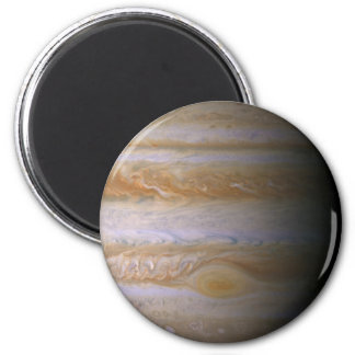 Jupiter as seen by the space probe Cassini 2 Inch Round Magnet