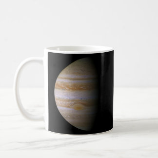 Jupiter as seen by the space probe Cassini Classic White Coffee Mug