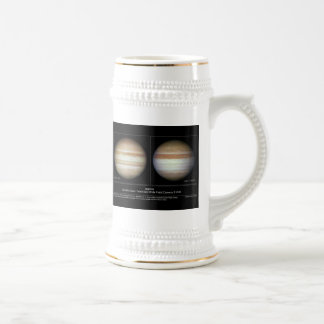 Jupiter Atmospheric Changes Beer Stein