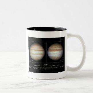 Jupiter Atmospheric Changes Two-Tone Coffee Mug