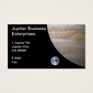 Jupiter Business Enterprises Business Card