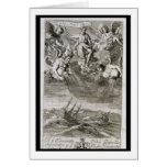 Jupiter Casts a Storm Upon the Ocean, illustration Cards
