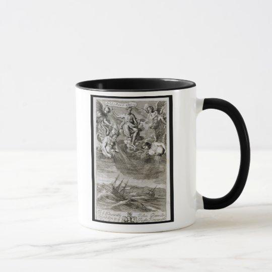 Jupiter Casts a Storm Upon the Ocean, illustration Mug