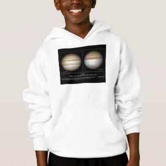 Jupiter Changes in Serface Atmosphere Hoodie