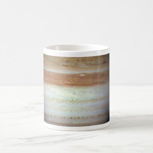 Jupiter Classic White Coffee Mug