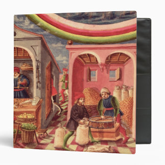 Jupiter, detail of fruit and grain merchants binders