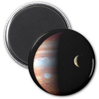 Júpiter e Io Imán De Frigorífico