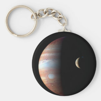 Júpiter e Io Llavero Redondo Tipo Pin