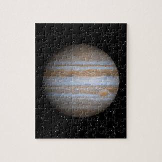Júpiter en un campo de estrella - rompecabezas