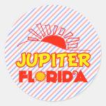 Jupiter, Florida Classic Round Sticker