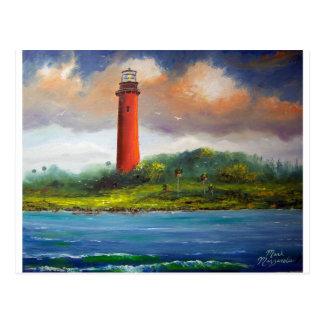Jupiter Florida Lighthouse Postcard