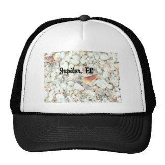 Jupiter, Florida Seashells Hat