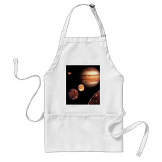 Jupiter Galilean Moons Space & Astronomy Gifts Aprons