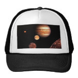 Jupiter Galilean Moons Space & Astronomy Gifts Trucker Hat