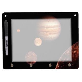 Jupiter Galilean Satellites NASA Dry-Erase Board