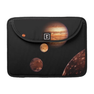 Jupiter Galilean Satellites NASA MacBook Pro Sleeves
