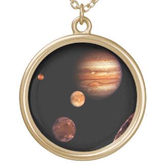 Jupiter Galilean Satellites NASA Necklace