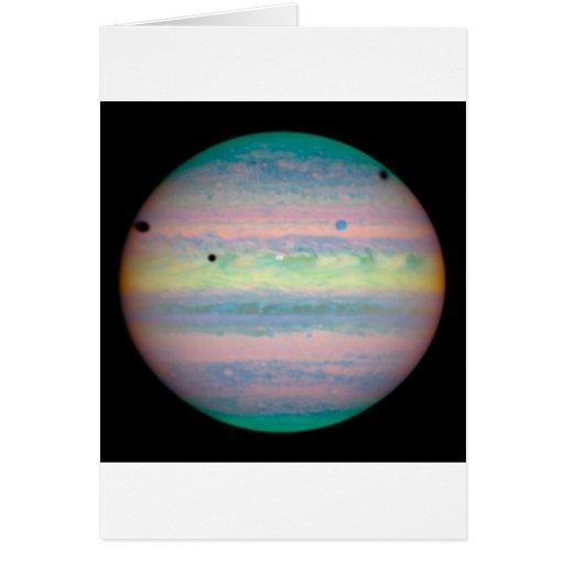 Jupiter Greeting Card