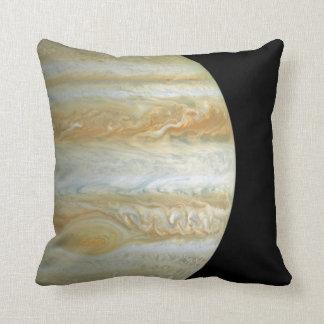 Jupiter Hemisphere Throw Pillows