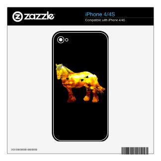 Jupiter horse iPhone 4 skins