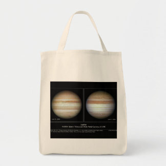 Júpiter impresión cambios atmosféricos del 7 de bolsas de mano