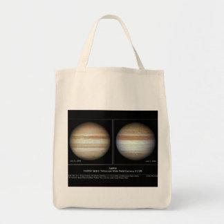 Júpiter impresión cambios atmosféricos del 7 de ju bolsa de mano
