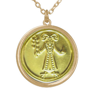 JUPITER IN SAGITTARIUS TALISMAN GOLD PLATED NECKLACE