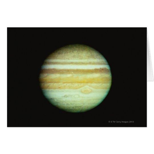 Jupiter in True Color Card