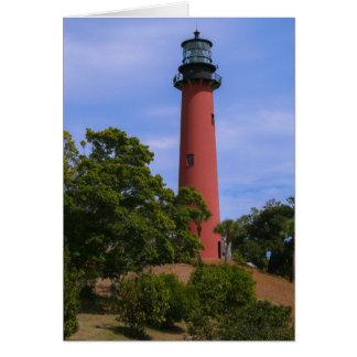 Jupiter Inlet Lighthouse Card