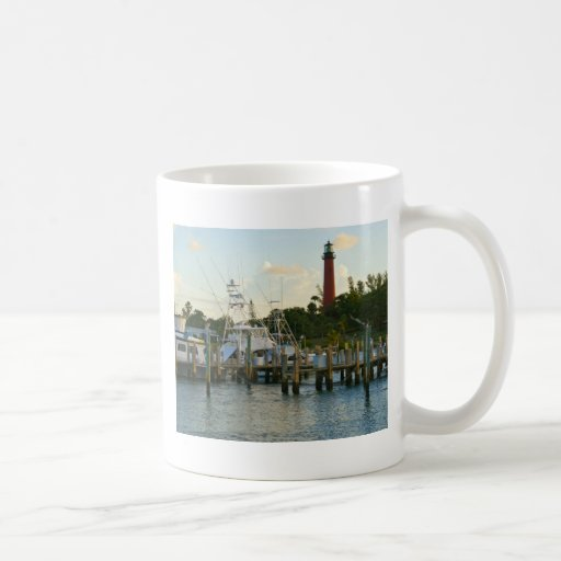 Jupiter Inlet Lighthouse Classic White Coffee Mug