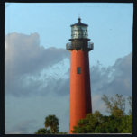 "Jupiter Inlet Lighthouse Cloth Napkin<br><div class=""desc"">Lighthouse at Jupiter Inlet in Florida.</div>"